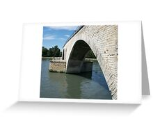 Pont d'Avignon 1 Greeting Card