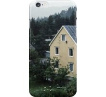 Homes south of Bolna from train Bodo to Trondheim Norway 19840621 0015  iPhone Case/Skin