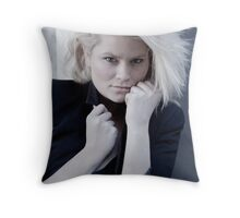 Jennifer Fitzgerald model shots Throw Pillow