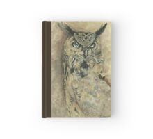 Wise Old Owl Hardcover Journal