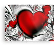 Bleeding Love Metal Print
