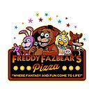 Five Nights at Freddy's Freddy Fazbear's Pizza FNAF logo by Jacob King