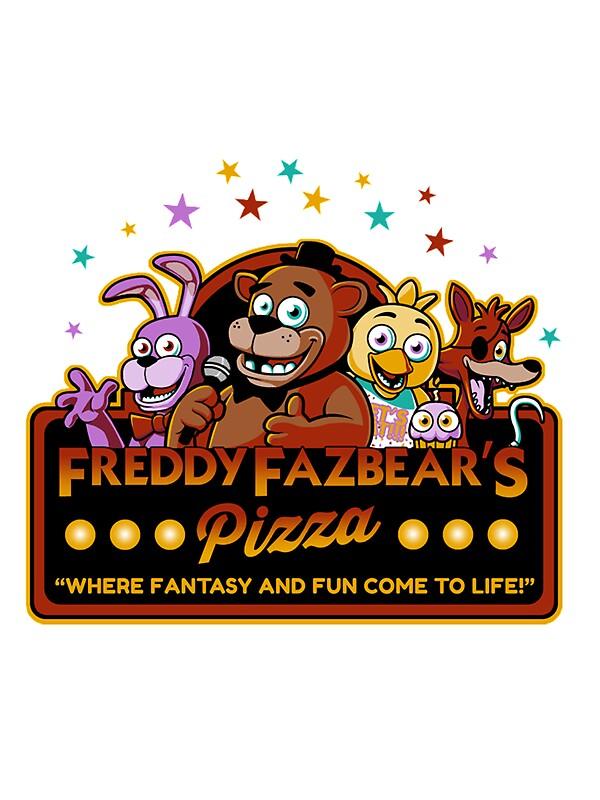 Quot Five Nights At Freddy S Freddy Fazbear S Pizza Fnaf Logo