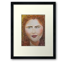 You Think You Know Me? Framed Print