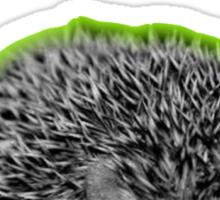 Born to Sulk...Radioactive Hedgehog Version! Sticker