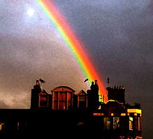 Rainbow in Fitzrovia by Brian Damage