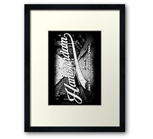Hamsterdam - Cloud Nine Edition (White) Framed Print