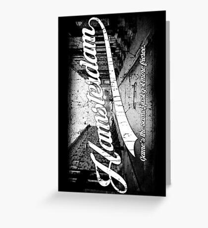 Hamsterdam - Cloud Nine Edition (White) Greeting Card