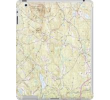 Massachusetts  USGS Historical Topo Map MA Sterling 351341 1988 25000 iPad Case/Skin