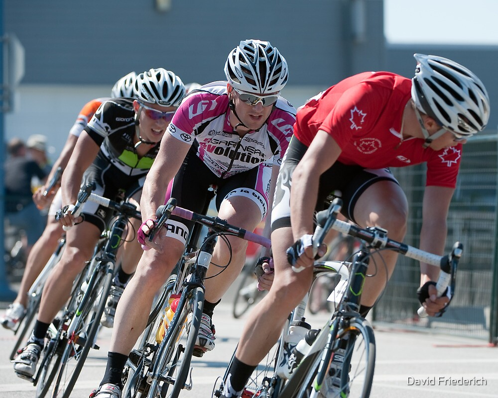 Dynamics of Cycle Racing: The Steveston Sockeye Spin by David Friederich
