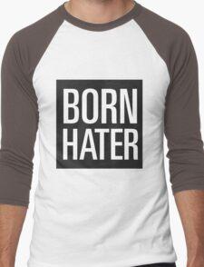 born hater Men's Baseball ¾ T-Shirt