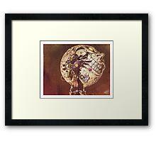 Kid Skull Framed Print