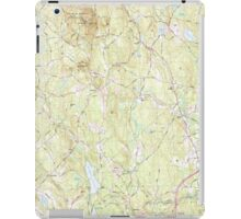 Massachusetts  USGS Historical Topo Map MA Sterling 351340 1988 25000 iPad Case/Skin