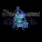 Haunted Mansion Disneyland Hatbox Ghost Disney by Jacob King