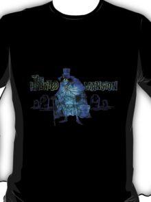 Haunted Mansion Disneyland Hatbox Ghost Disney T-Shirt