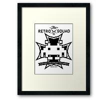 The Retro Squad - Emblem 1 Framed Print