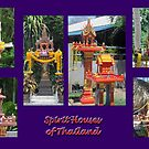 Thailand - Spirit Houses by DAdeSimone