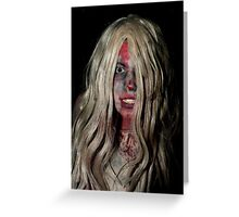 Zombie 14 Greeting Card