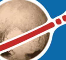 Pluto and Beyond Sticker Sticker