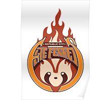 Republic City Fire Ferrets Poster