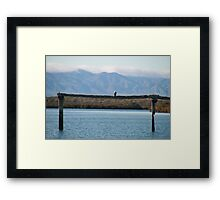 Port Augusta, eco- cruise. S.A. Framed Print