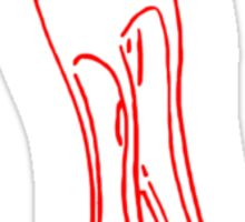 long legged Sticker