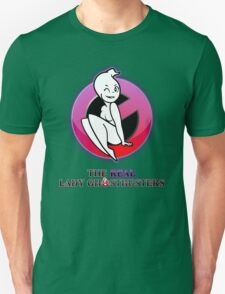 The REAL Lady Ghostbusters - Poster T-Shirt