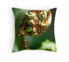 Fiddlehead Throw Pillow