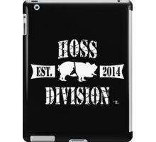 HOSS DIVISION EST. 2014 iPad Case/Skin