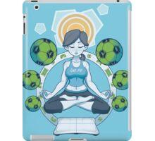 Get Fit - Blue iPad Case/Skin