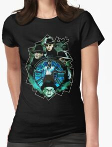 DARK CITY: THE STRANGERS Womens Fitted T-Shirt