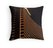 Wynn Las Vegas at night Throw Pillow