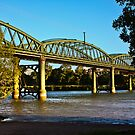 Road bridge over the Burnette River, Bundaberg, Queensland, Australia by Fineli
