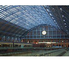 St Pancras Station Photographic Print