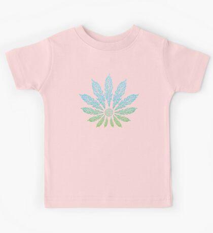 Feather Flower: Cool Reef Kids Tee