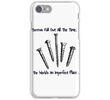 Screws iPhone Case/Skin