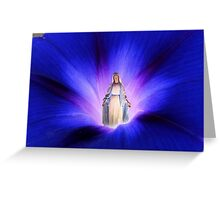 Morning Glorious -- Rising Mary Greeting Card