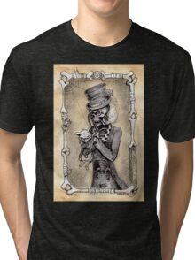Dead kitty (sepia) Tri-blend T-Shirt