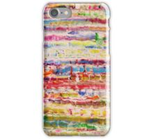 Lively Abstract by Allan Maticic iPhone Case/Skin