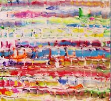 Lively Abstract by Allan Maticic by Allan Maticic