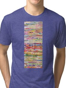 Lively Abstract by Allan Maticic Tri-blend T-Shirt