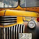 Old School Bus by David Kocherhans