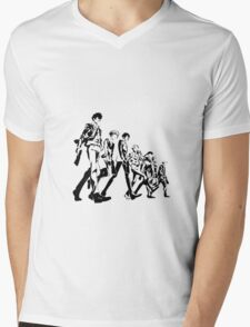 Psycho Pass Unit 1 Mens V-Neck T-Shirt
