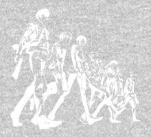Psycho Pass Unit 1 (White) One Piece - Short Sleeve