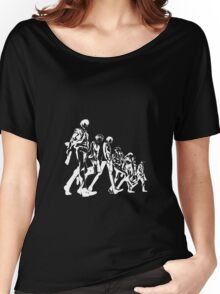 Psycho Pass Unit 1 (White) Women's Relaxed Fit T-Shirt