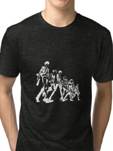 Psycho Pass Unit 1 (White) Tri-blend T-Shirt