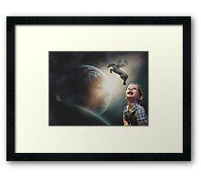 A Child's World Framed Print