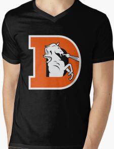 Denver Broncos Logo 1 Mens V-Neck T-Shirt