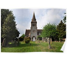 St.Marys - Compton Abbas - UK Poster
