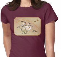 Younger Than Springtime ~ Daisies Womens Fitted T-Shirt